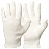 Bleached Cotton Gloves