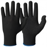 Vinyl/PVC Microdots Cotton Gloves with Lycra®