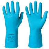 Cotton Flock Lined Latex Gloves