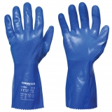 Interlock Lined Nitrile Chemical Resistant Gloves