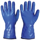 Winter Lined Nitrile Chemical Resistant Winter Gloves