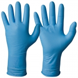 Nitrile, Powder-Free, Blue Colour, 30 cm Length Single-Use Gloves