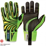Durable KR-Grip™ Material in Palm and Fingers Cut 5 Impact Hi-Viz™ Protective Gloves