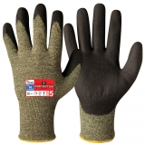 Patented Neoprene Coating Cut Resistant and Flame Retardant Gloves Protector