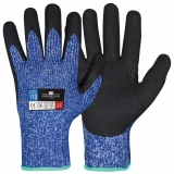 Typhoon® Fibre with Sandy Nitrile Coating Cut Resistant Winter Gloves Protector