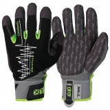 MacroSkin Pro® Material with Spandex® Back and Velcro Closure, Unlined Vibration-reducing work gloves EX® -