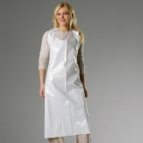LDPE, 40 Microns Disposable Aprons, 90x130 cm