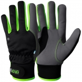 Assembly Winter gloves EX®, MacroSkin Pro® with elastic polyester back with Velcro closure, winter lined
