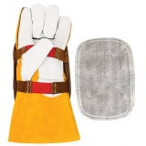 Heat Reflective Aluminized Hand Shields