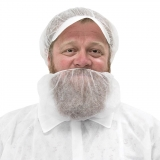 Beard cover, white